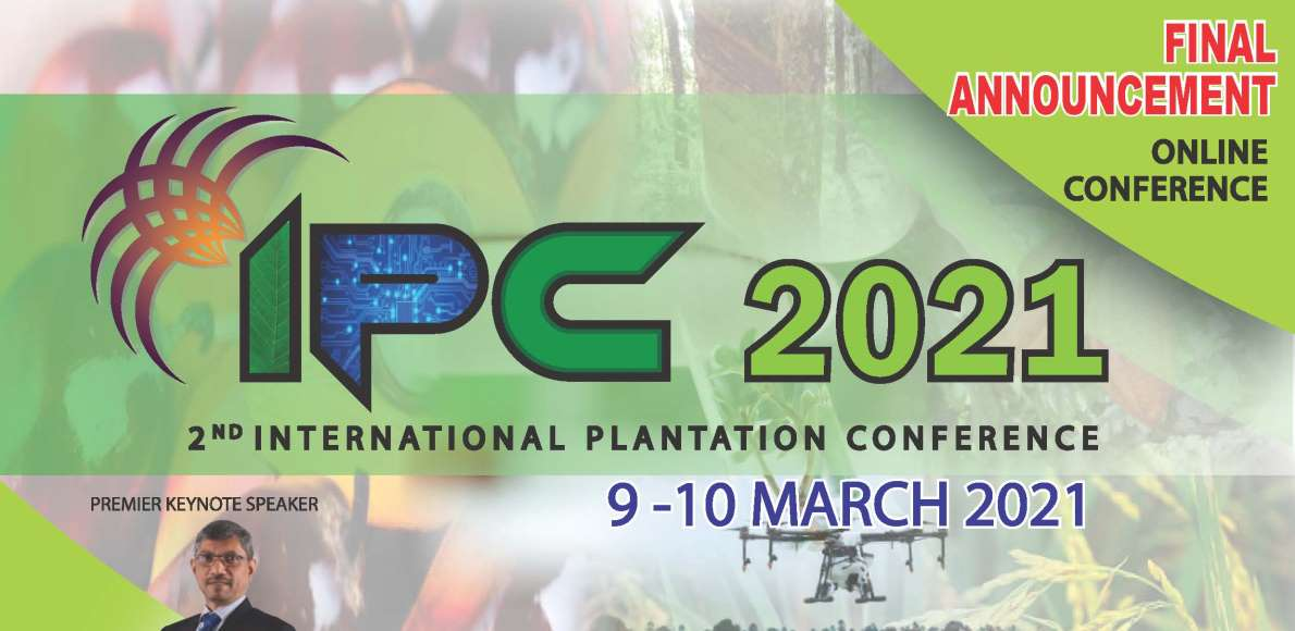 2ND INTERNATIONAL PLANTATION CONFERENCE